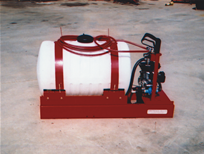 55 Gallon Sprayer w/Engine