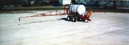 LCA Trailer Sprayer With Boom
