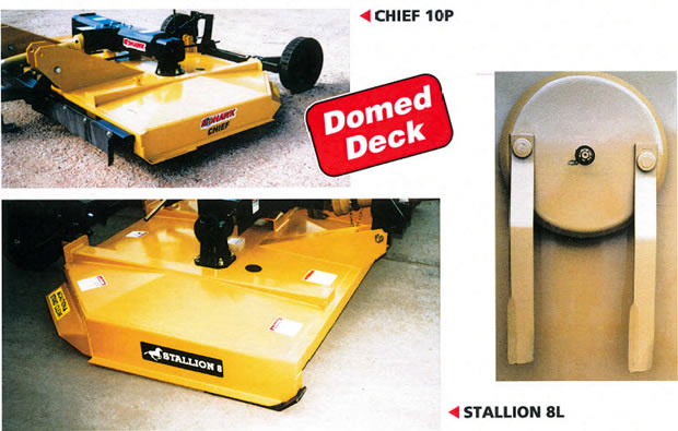 Stallion & Chief Rotary Cutters